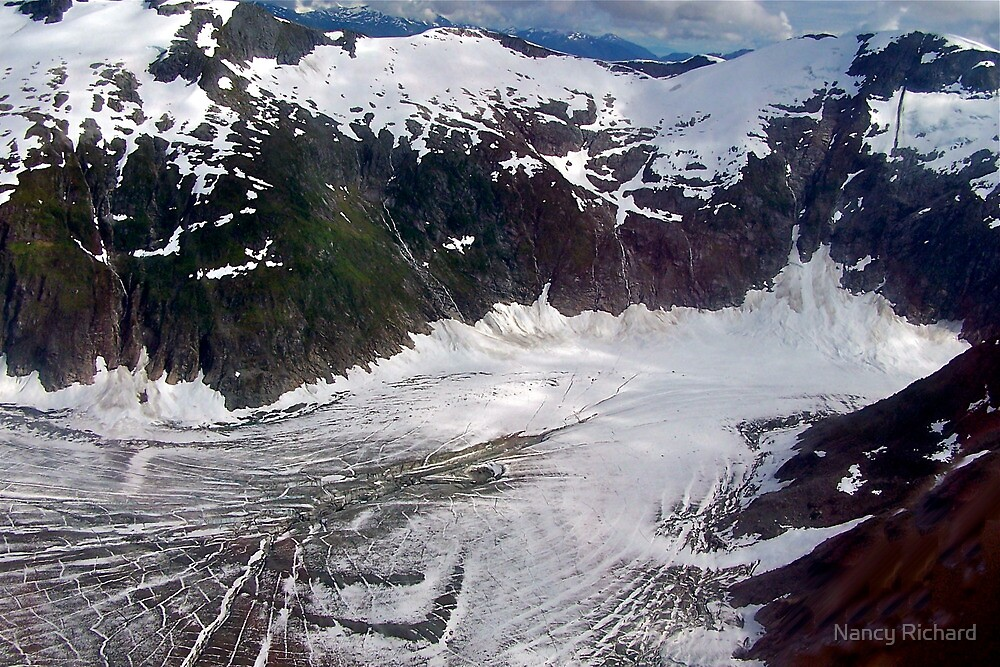 Being a glacier ain't all it's cracked up to be! by Nancy Richard
