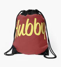 Hubby Newlywed Bride Groom Drawstring Bag
