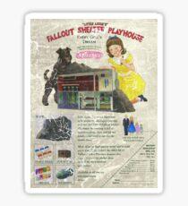 Atomic Ads - MILEMCO Girls Fallout Shelter Playhouse Sticker