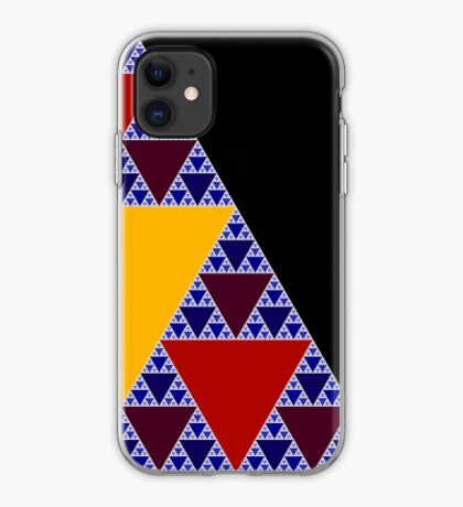 Sierpinski Triangle 2015 009 iPhone Case