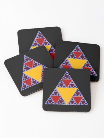 Sierpinski Triangle 2015 009 Coasters