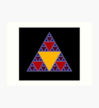 Sierpinski Triangle 2015 009 Art Print