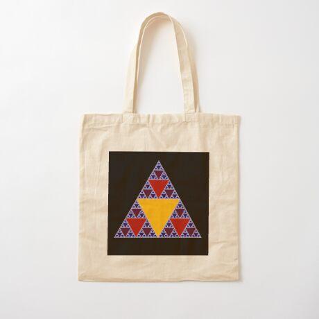 Sierpinski Triangle 2015 009 Cotton Tote Bag