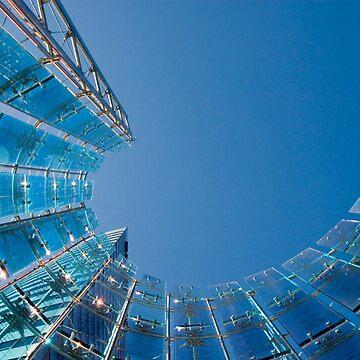 Blue sky Twirl by rudavis