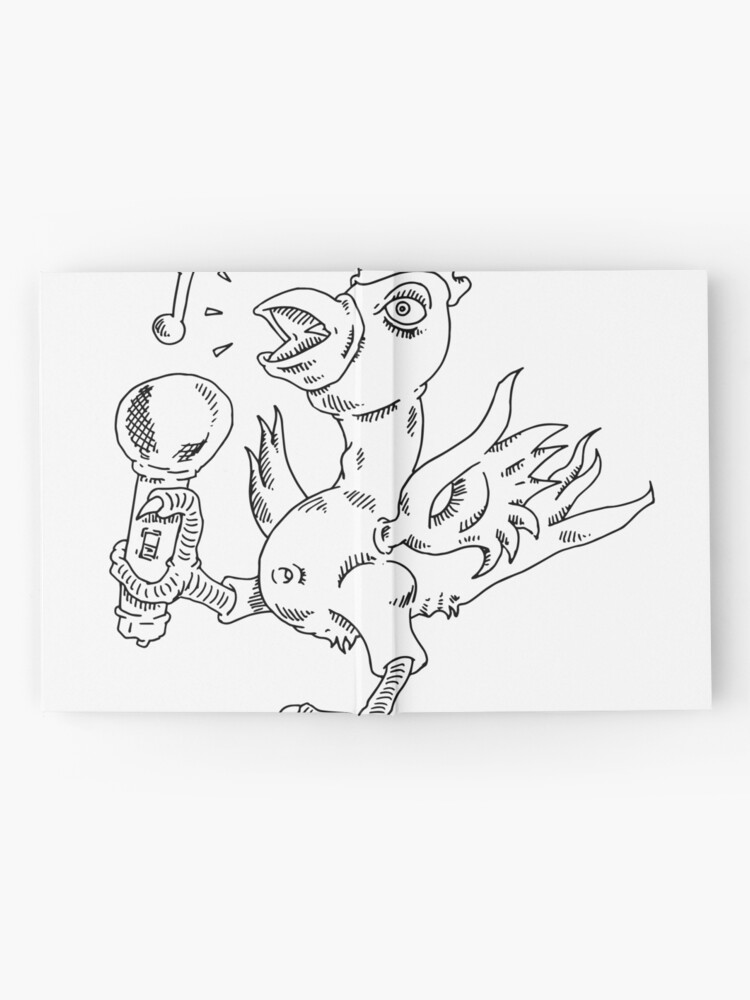 Alternate view of How to draw a singing chicken Hardcover Journal