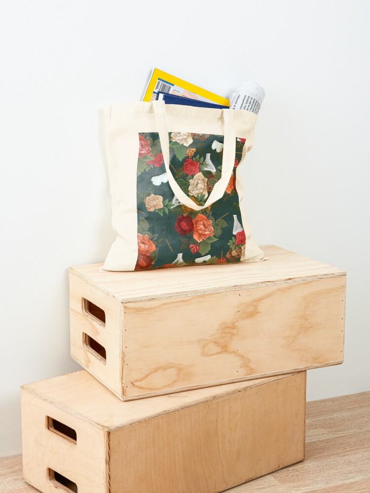 Alternate view of Chemistry Floral Tote Bag