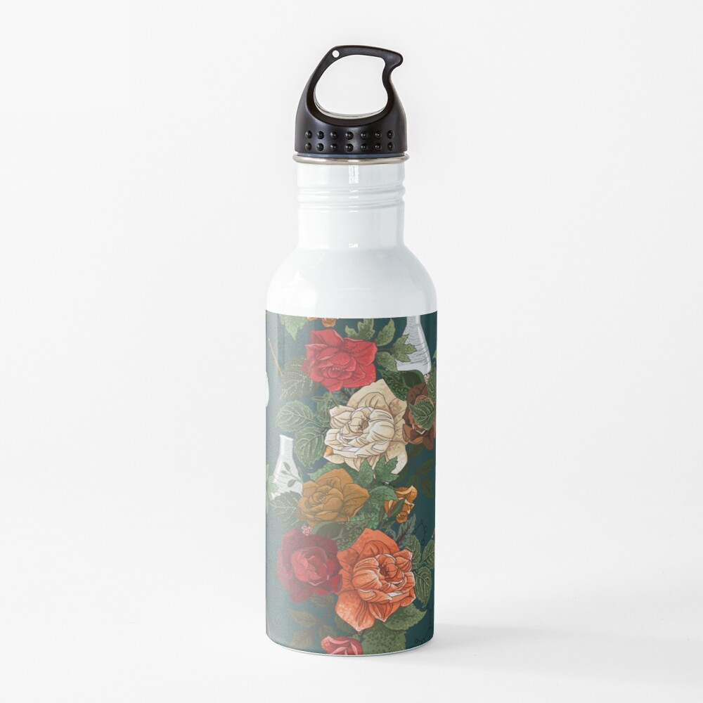 Chemistry Floral Water Bottle