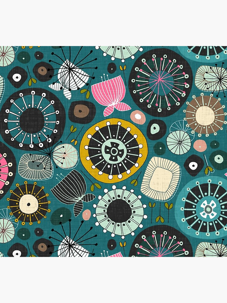 blooms teal by scrummy