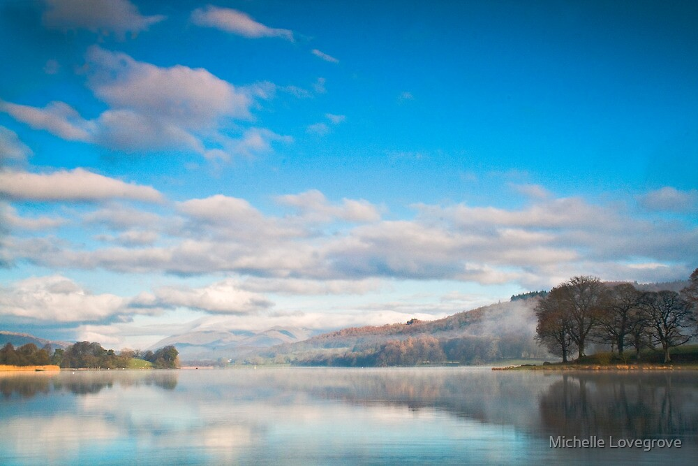 Esthwaite Water by Michelle Lovegrove