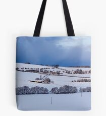 A Winter Landscape Tote Bag