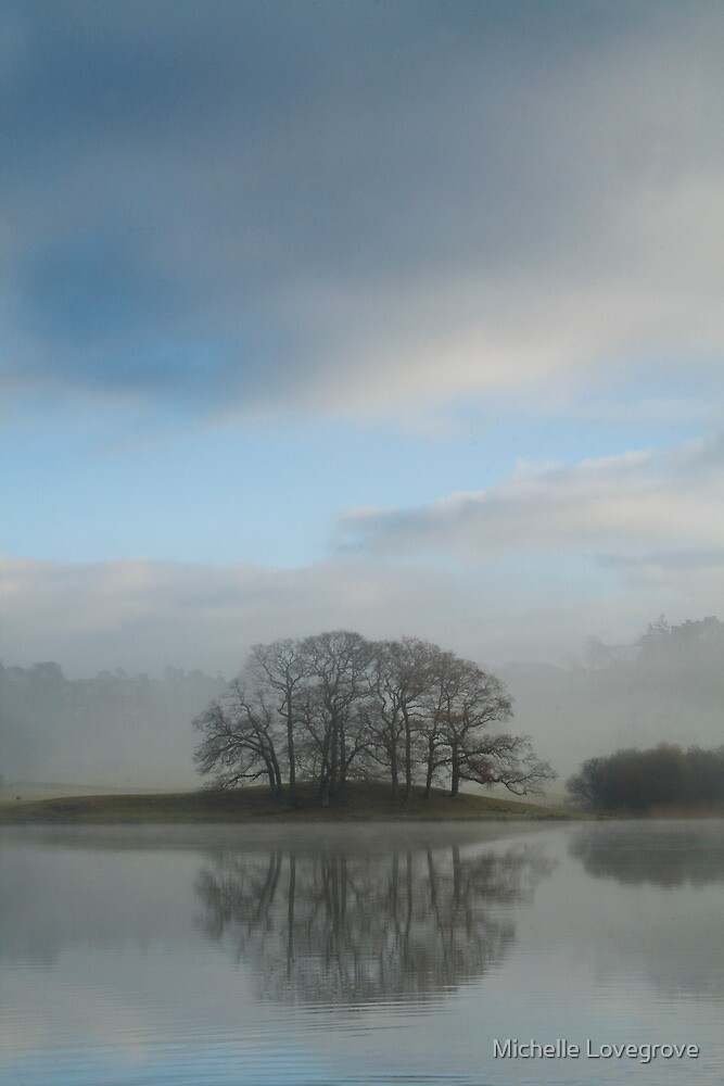 Esthwaite Reflections by Michelle Lovegrove