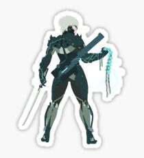 Raiden Vector Art - Metal Gear Solid/Rising Sticker