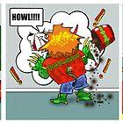 Kid Monsta Triptych 1 by Kev Moore