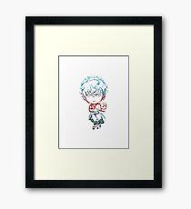 Gintama Chibi Gintoki Framed Print