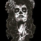 Day of Death Sexy Lady by StickaBomb