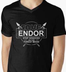 Save Endor Men's V-Neck T-Shirt