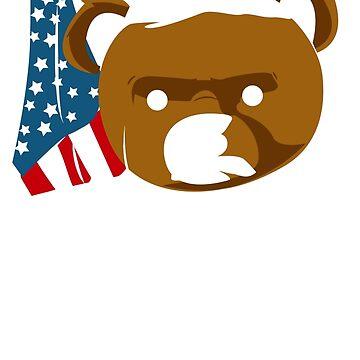 Teddy Bear Roosevelt by JaeDhut55