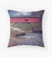 SIM Smith Bridge 1883 Throw Pillow