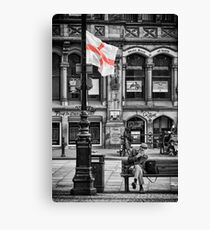 Made in England Canvas Print