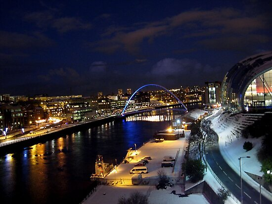 A Cold Tyneside Night by Ladymoose