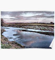 River Wyre . Poster
