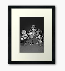 Looking Glass Figures Framed Print