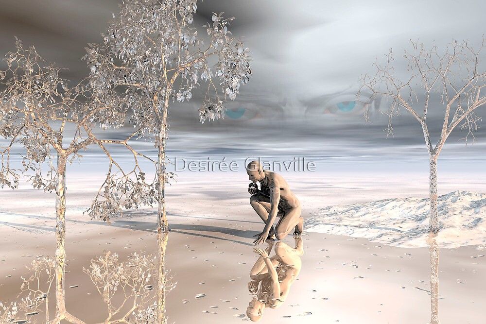 Behind Blue Eyes by Desirée Glanville