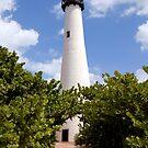 Cape Florida Lighthouse  by Jason Pepe