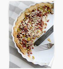 Savoury tart Poster
