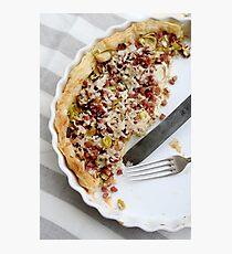 Savoury tart Photographic Print