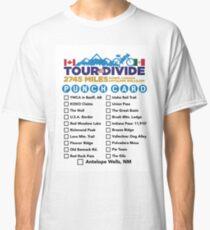 Tour Divide Punch Card Classic T-Shirt