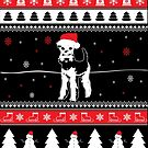 Airedale Terrier Ugly Christmas von ilovepaws