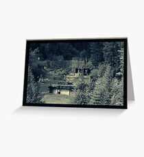 Abandoned Mine Complex Greeting Card