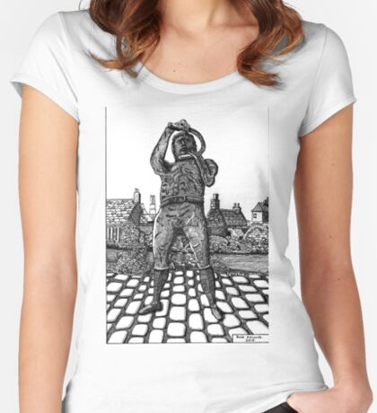 259 - WILLIE CARR - 02 - DAVE EDWARDS - INK - 2015 Women's Fitted Scoop T-Shirt