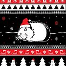 Guinea Pig Ugly Christmas von ilovepaws