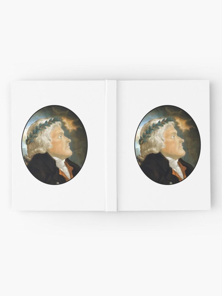 Alternative Ansicht von Präsident Thomas Jefferson Notizbuch