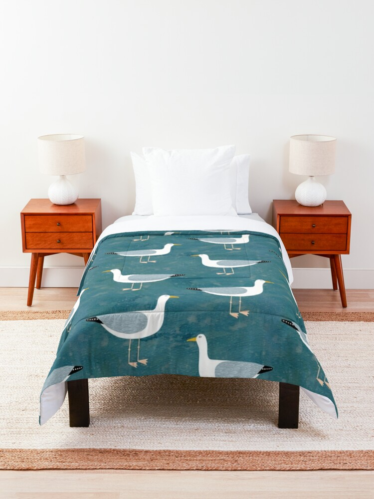 Alternate view of Seagull Standing Comforter