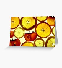 Fruit Land Greeting Card