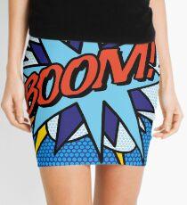Comic Book Pop Art BOOM! Mini Skirt