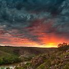 Sunrise at Nitmiluk, Northern Territory, Australia by Jim Lovell