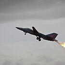 Flaming Jet Fuel by Daniel Peut