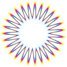 Circular Wave by Artworksy