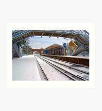 Birchington-on-Sea Railway Station Art Print