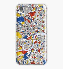 London Mondrian map iPhone Case/Skin