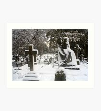 Parkstone Cemetery Art Print