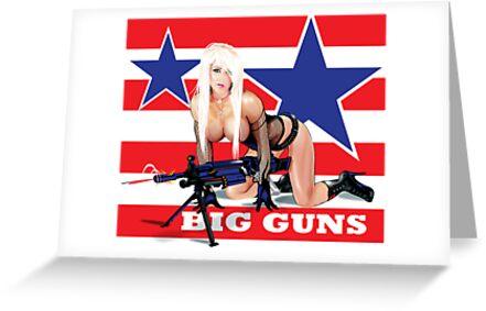Cammee Lee Big Guns by kiwiartyfarty