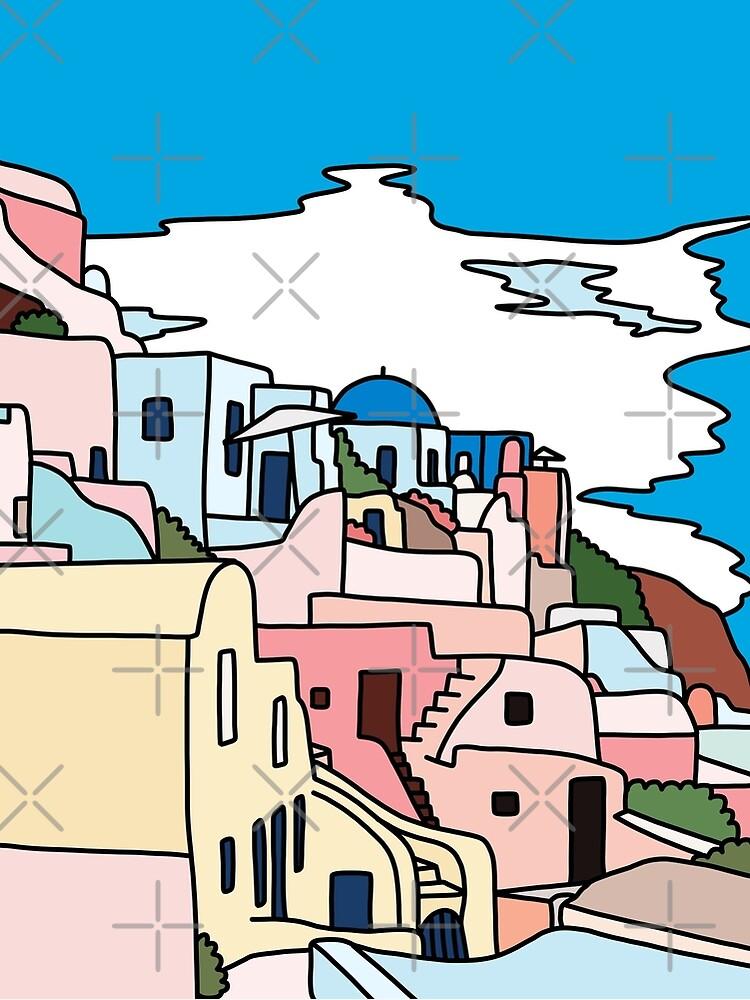 Santorini by Sasa Elebea by elebea