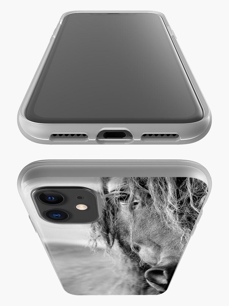 Alternative Ansicht von Pferd iPhone-Hülle & Cover