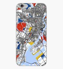Tokyo Mondrian map iPhone Case