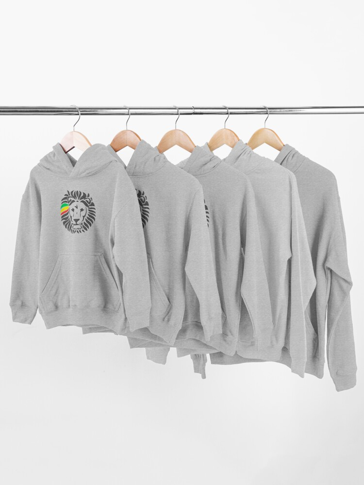 Alternate view of Lion Tuff  Kids Pullover Hoodie